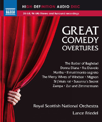 Great Comedy Overtures - Friedel