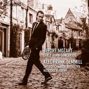 Before Mozart (Early Horn Concertos) - Frank-Gemmill / McGegan