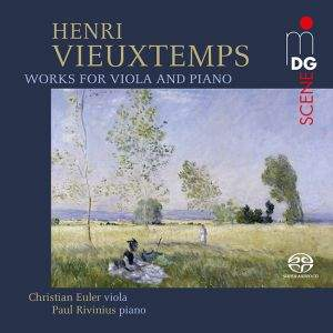 Vieuxtemps: Works for Viola and Piano - Euler, Rivinius
