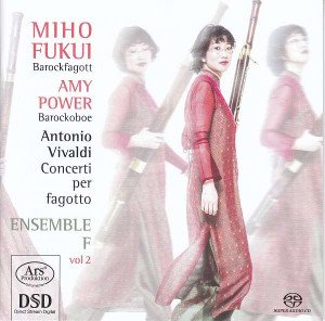 Vivaldi: Bassoon Concertos, Vol 2 - Fukui / Power