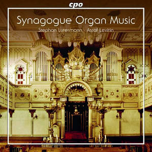 Organ music for the synagogue - Lutermann, Levitin