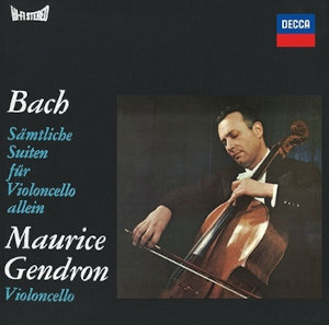 Bach: 6 Cello Suites - Gendron