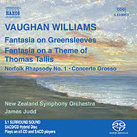Vaughan Williams: Orchestral Works - Judd