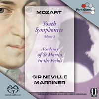 Mozart: Youth Symphonies Vol. 3 - Marriner