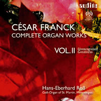 Franck, César: Complete Organ Works Vol. 2 - Ross