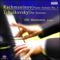 Rachmaninov: Piano Sonata No. 1, Tchaikovsky: The Seasons - Mustonen