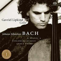 Bach: Cello Suites - Gavriel Lipkind