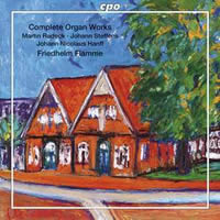Northern German Organ Baroque Vol. 04: Radeck, Brunckhorst, Steffens, Erich, Ritter, Hanff - Flamme