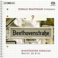 Beethoven: Complete Works for Solo Piano, Vol 09 - Brautigam