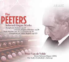 Peeters: Selected Organ Works - Van de Velde
