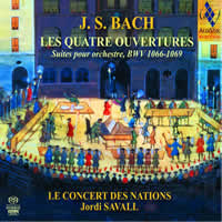Bach: Orchestral Suites - Savall