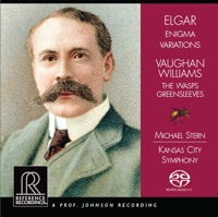 Elgar, Vaughan Williams: Enigma, The Wasps, Greensleeves - Stern