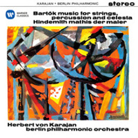 Hindemith: Mathis der Maler, Bartok: Music for Strings, Percussion & Celeste - Karajan