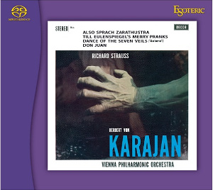 Strauss: Also sprach Zarathustra, Till Eulenspiegel, Dance of the 7 Veils - Karajan