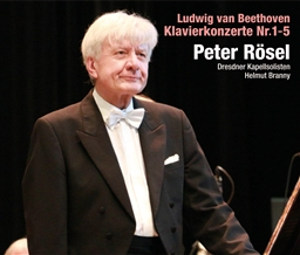 Beethoven: 5 Piano Concertos - Peter Rösel/Helmut Branny