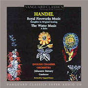 Handel: Water Music, Music for the Royal Fireworks - ECO/Somary