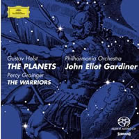 Holst: The Planets, Grainger: The Warriors - Gardiner