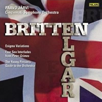 Elgar: Enigma Variations, Britten: Young Person's Guide - Paavo Järvi