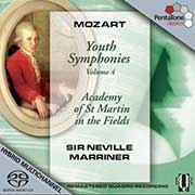 Mozart: Youth Symphonies Vol. 4 - Marriner