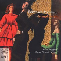 Forgotten Treasures, Vol 05: Romberg: Symphonies - Willens
