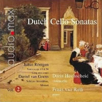 Dutch Cello Sonatas, Vol 2 - Hochscheid / van Ruth