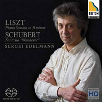 Liszt: Piano Sonata in B minor, Schubert: Wanderer Fantasy - Sergei Edelmann