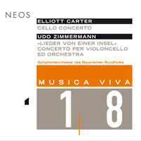 Carter, Zimmermann: Cello Concertos - Vogler, Järvi