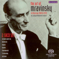 The Art of Mravinsky: Mravinsky in Moscow 1965 & 1972