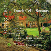 Dutch Cello Sonatas, Vol 6 - Hochscheid / van Ruth
