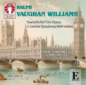 Vaughan Williams: Concerto for 2 pianos, A London symphony (1920 version) - Lenehan, McCawley, Yates