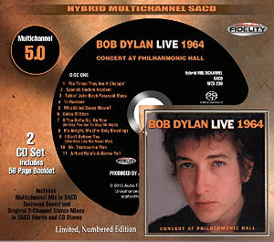 Bob Dylan: Live 1964 Concert at the Philharmonic Hall