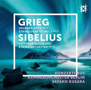 Grieg: Holberg Suite, Sibelius: Suite for Violin and Strings - Kusaka
