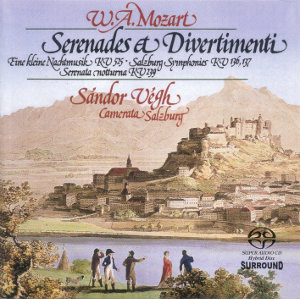 Mozart: Serenades and Divertimenti - Vegh