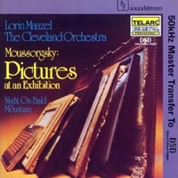 Mussorgsky: Pictures at an Exhibition etc. - Cleveland Orchestra/Maazel