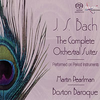 Bach: Orchestral Suites - Pearlman