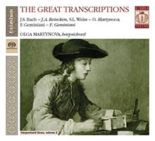 Harpsichord Gems Vol. 2: The Great Transcriptions - Martynova