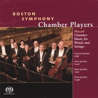 Mozart: Chamber Music for Winds and Strings - Boston Symphony Chamber Players