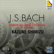 Bach: Inventions and Sinfonias - Shimizu