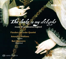 The darke is my delight - Flanders Recorder Quartet