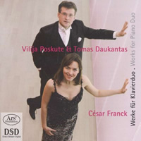 Franck: Works for Piano Duo - Poskute / Daukantas