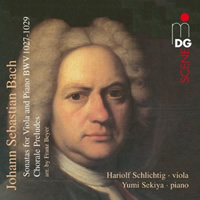 Bach: Works for Viola and Piano - Schlichtig, Sekiya