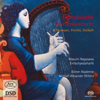Forgotten Treasures, Vol 10: French Harp Concertos - Nagasawa / Willens