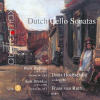 Dutch Cello Sonatas, Vol 5 - Hochscheid / van Ruth