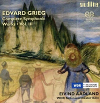 Grieg: Complete Symphonic Works Vol. 3 - Aadland