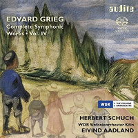 Grieg: Complete Symphonic Works Vol. 4 - Schuch, Aadland