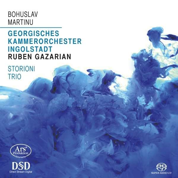Martinu: Concertino, Concerto for Piano Trio & Strings - Storioni Trio / Gazarian