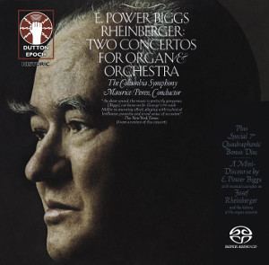 Rheinberger: Two Concertos for Organ & Orchestra - Power Biggs / Peress