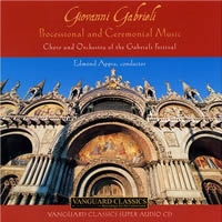 Giovanni Gabrieli: Processional and Ceremonial Music - Appia