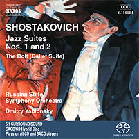 Shostakovich: Jazz Suites, The Bolt, Tahiti Trot - Yablonsky