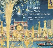 Handel: Water Music, Music for the Royal Fireworks - Savall